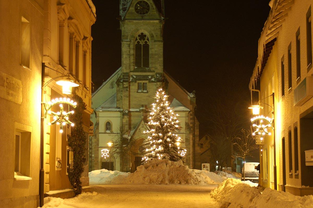 Weihnachten in Bischofsgrün